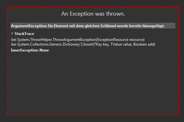 ExceptionSLBlend