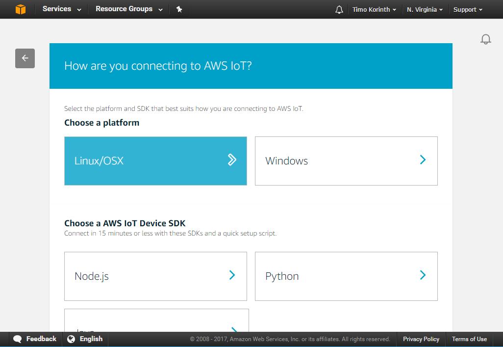 Using Alexa to control a local Raspberry Pi - Timo Korinth